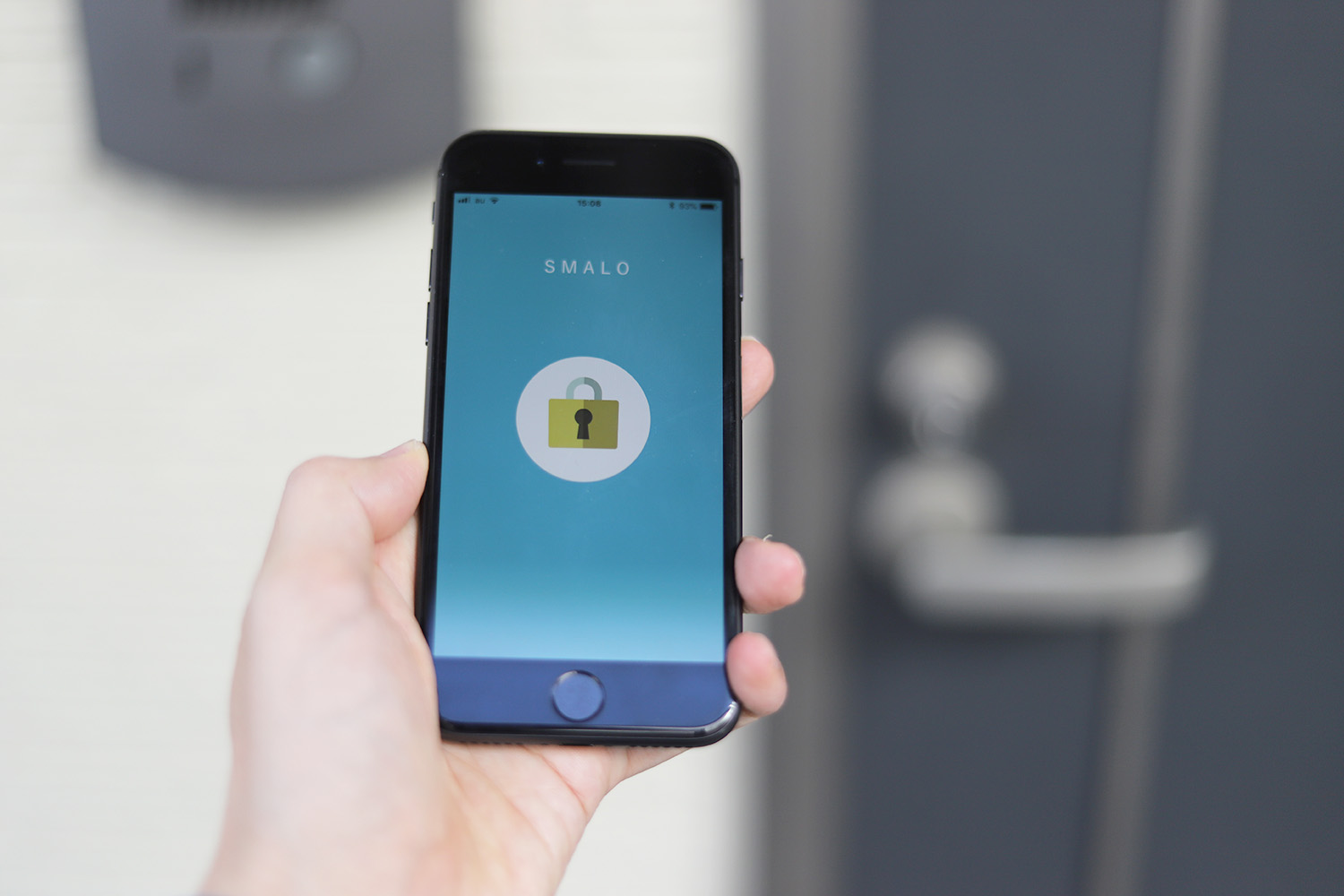 """SMALO"" self-developed and IoT smart lock"