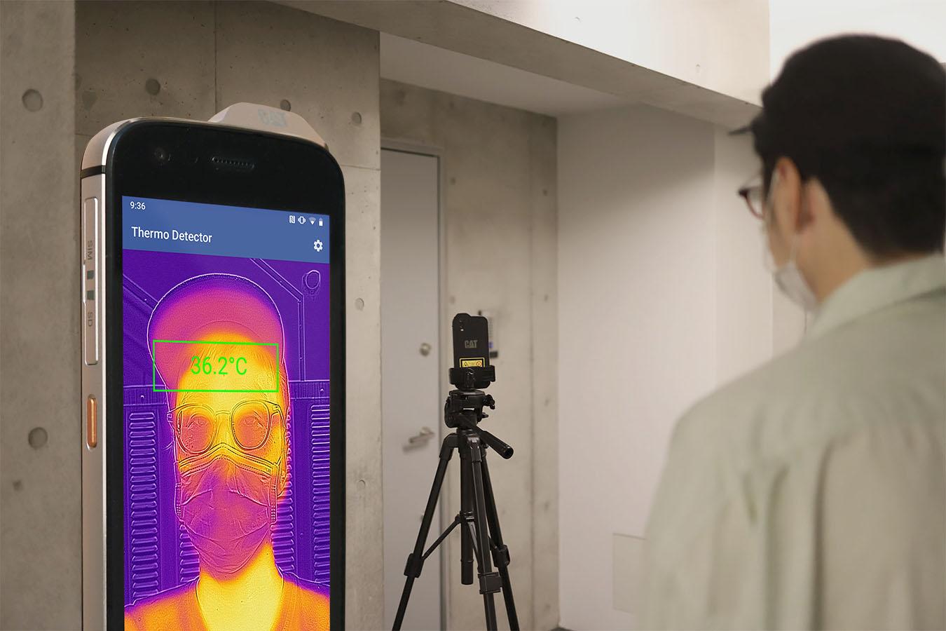 CAT S61で体温を計測し音声でお知らせするアプリをリリースしました