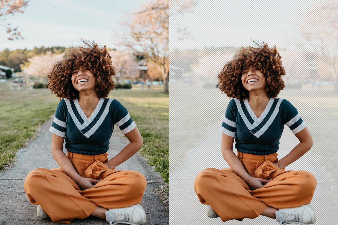 Photoshopの被写体選択が大幅に進化して風になびく髪の毛も一瞬で切り抜けちゃうよ