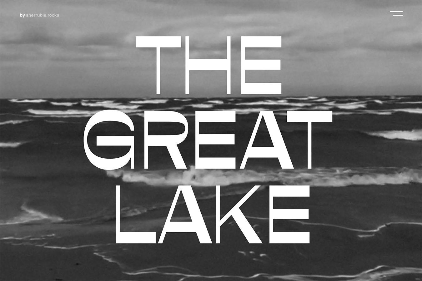 The Great Lake Michigan
