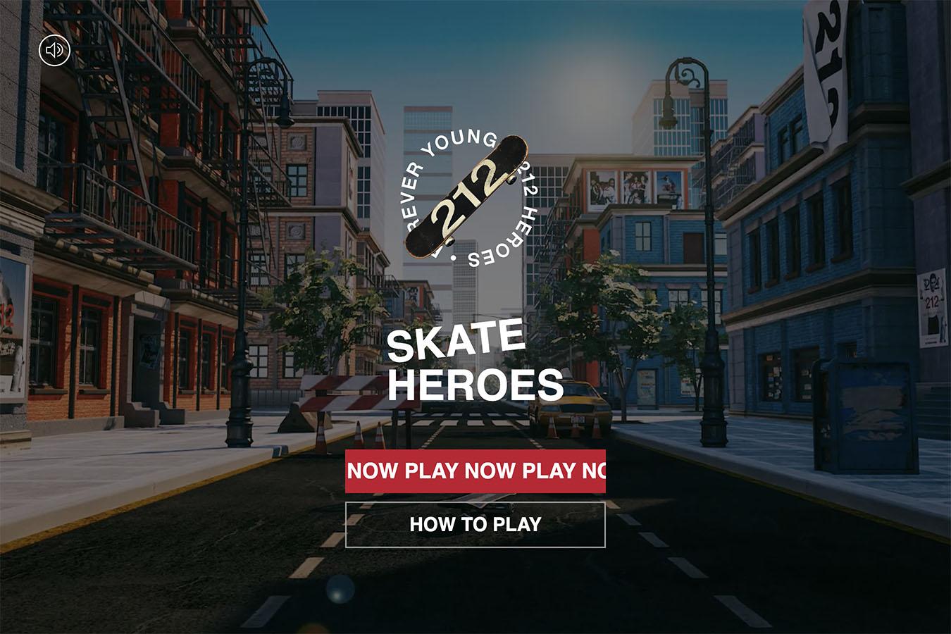 Heroes Skate Game