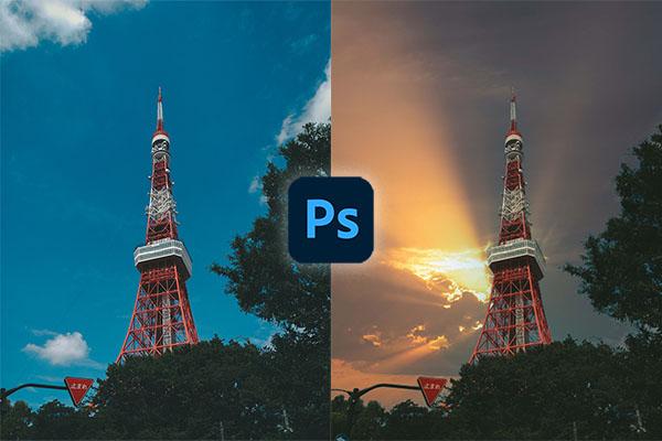 Photoshopの「空の置き換え」機能がアップデート!さらに美麗な空が追加されました